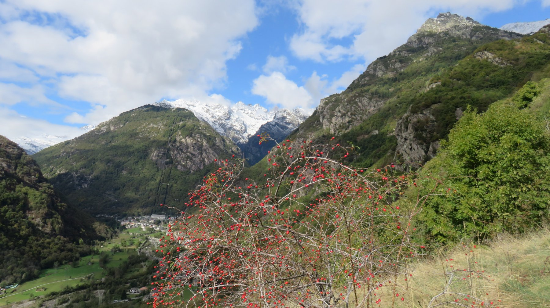 Dalla Trucca, apertura verso l'alta valle