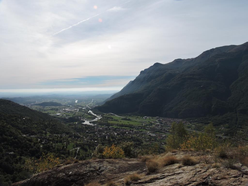Guarda (Monte)da Settimo Vittone, anello per Cesnola, Chiaverina, Valcauda 2016-10-16