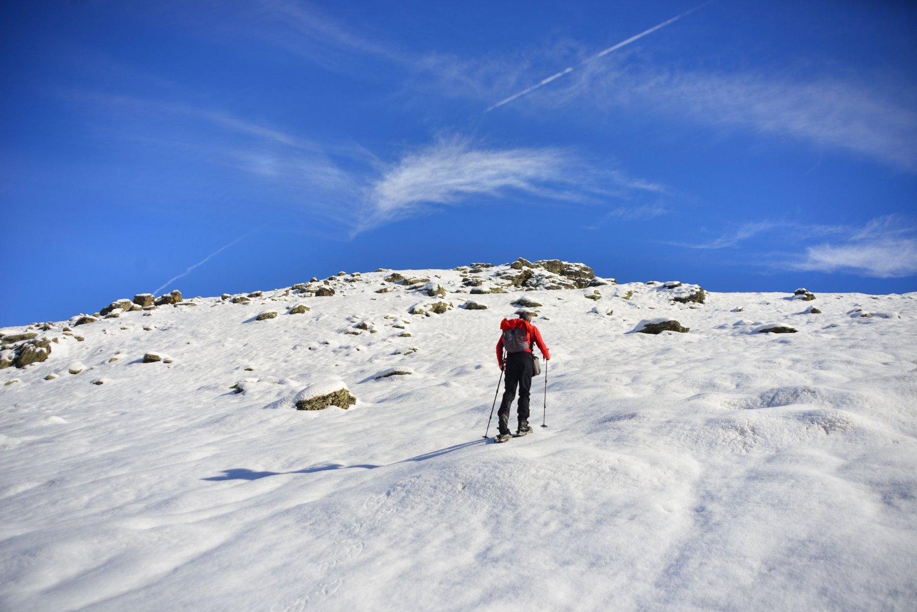 verso il monte Cappel