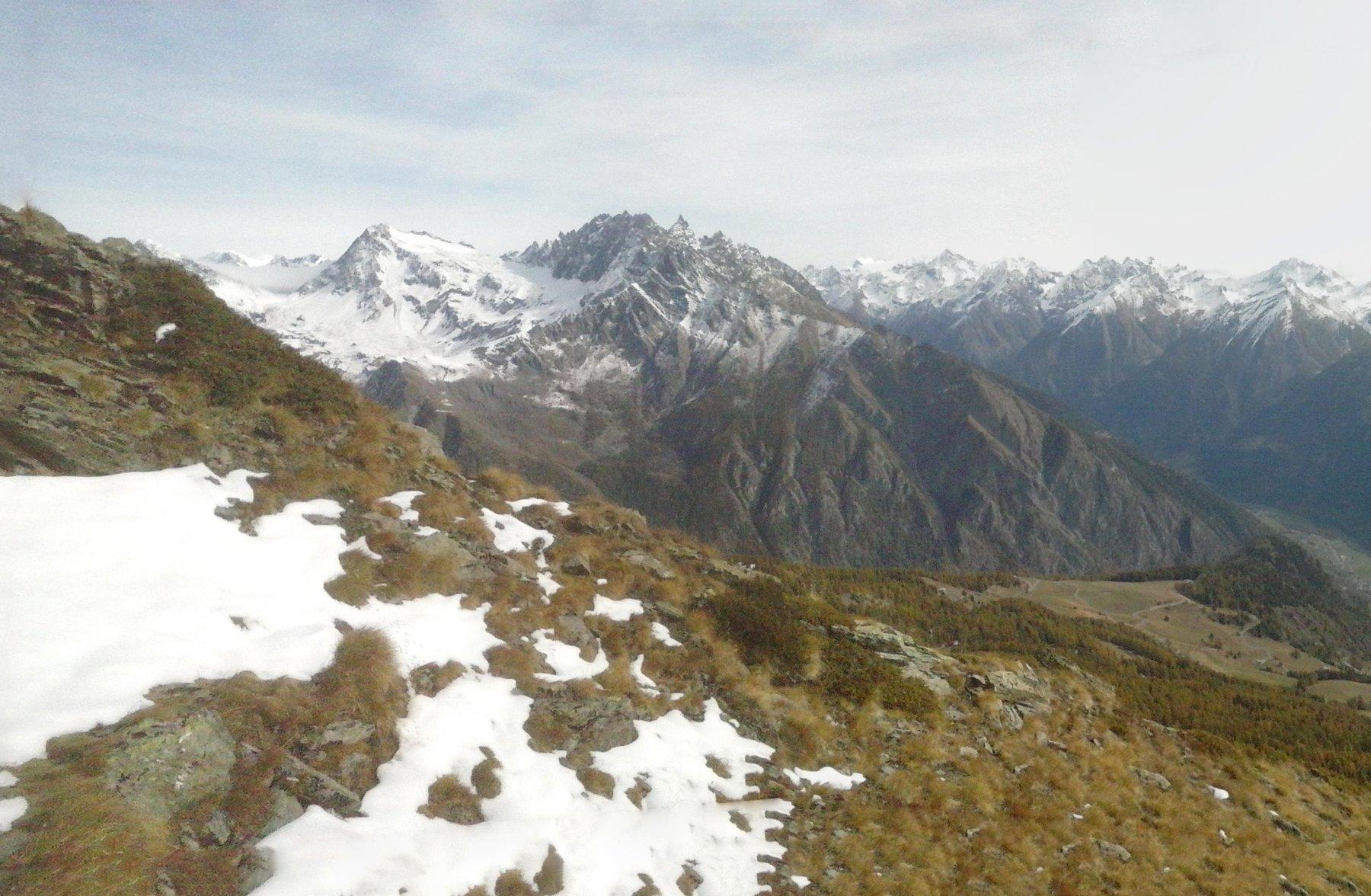 panorama verso la Valpelline..