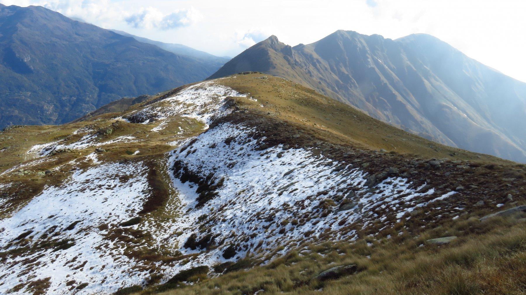 Dorsale verso il Monte Gregorio