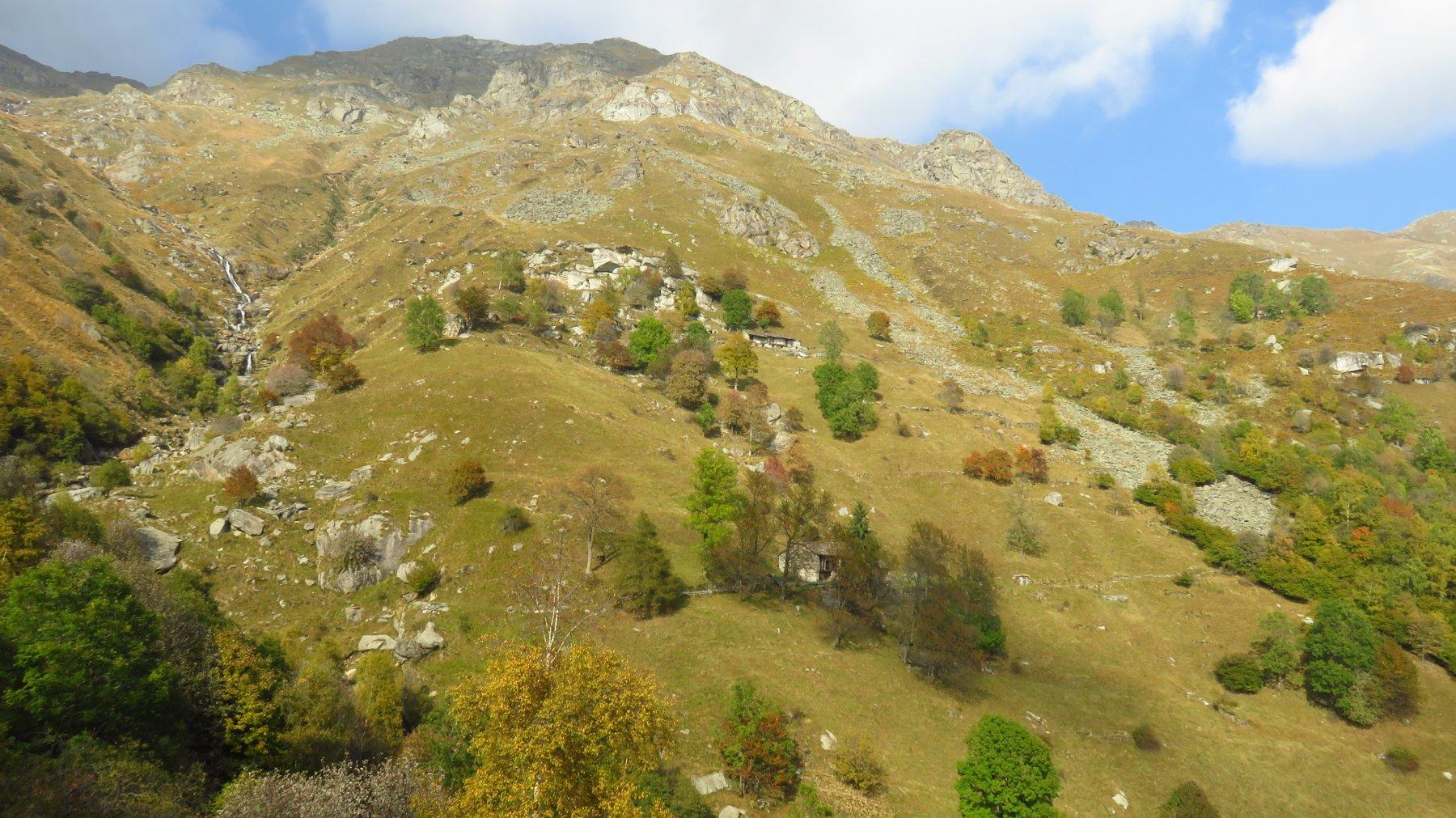 Vallone (Cima del) da Traversella per il Colle Pian Spergiurati 2016-10-20