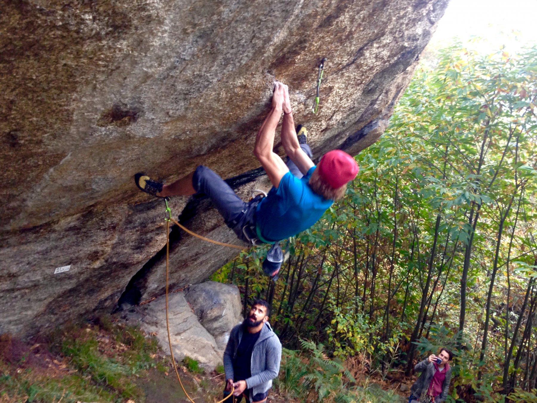 partenza boulder 7a