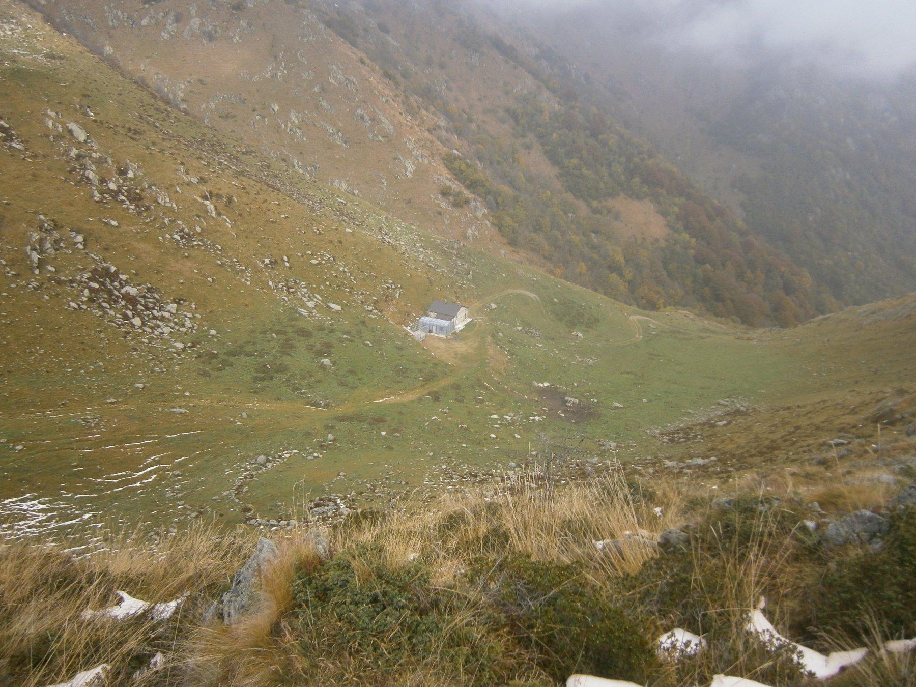 La conca del gias dalla cima