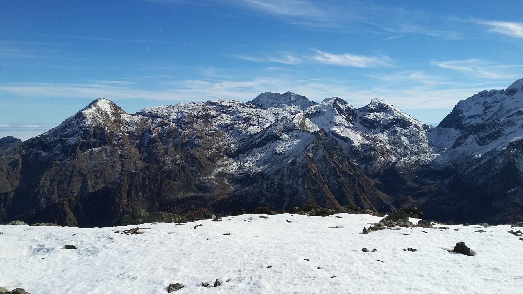 Dal Monte Rosso d'Ala al Passo Paschiet