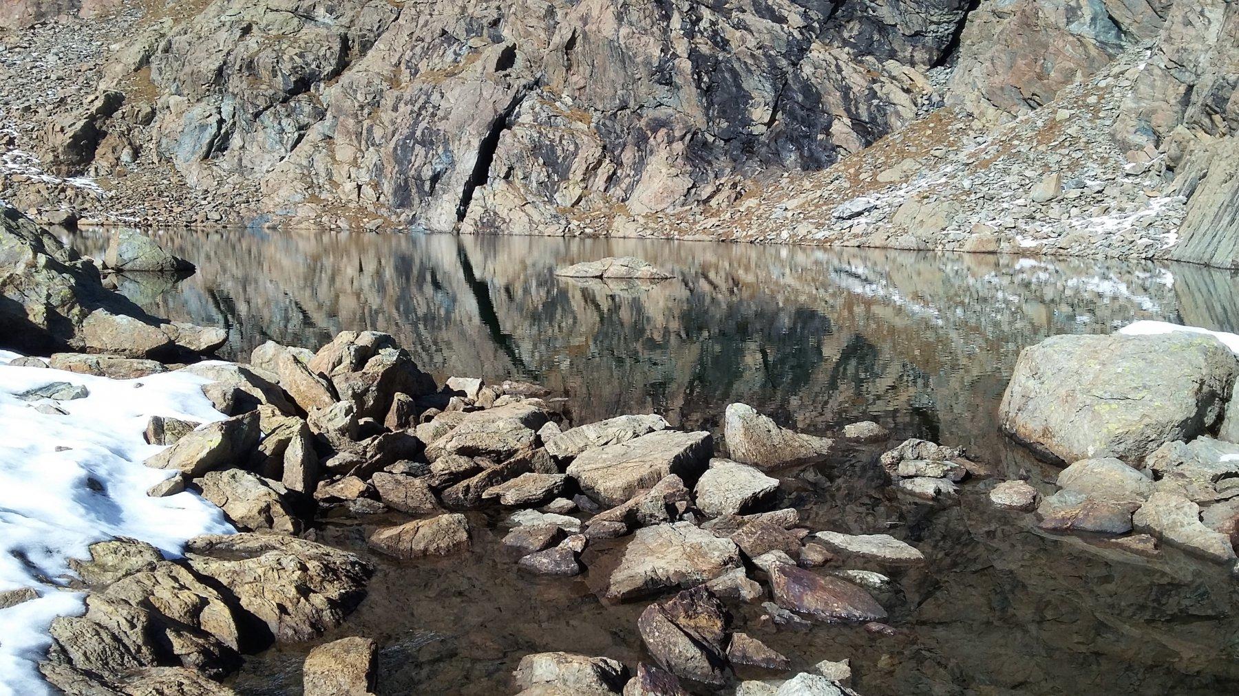 al lago del Ru