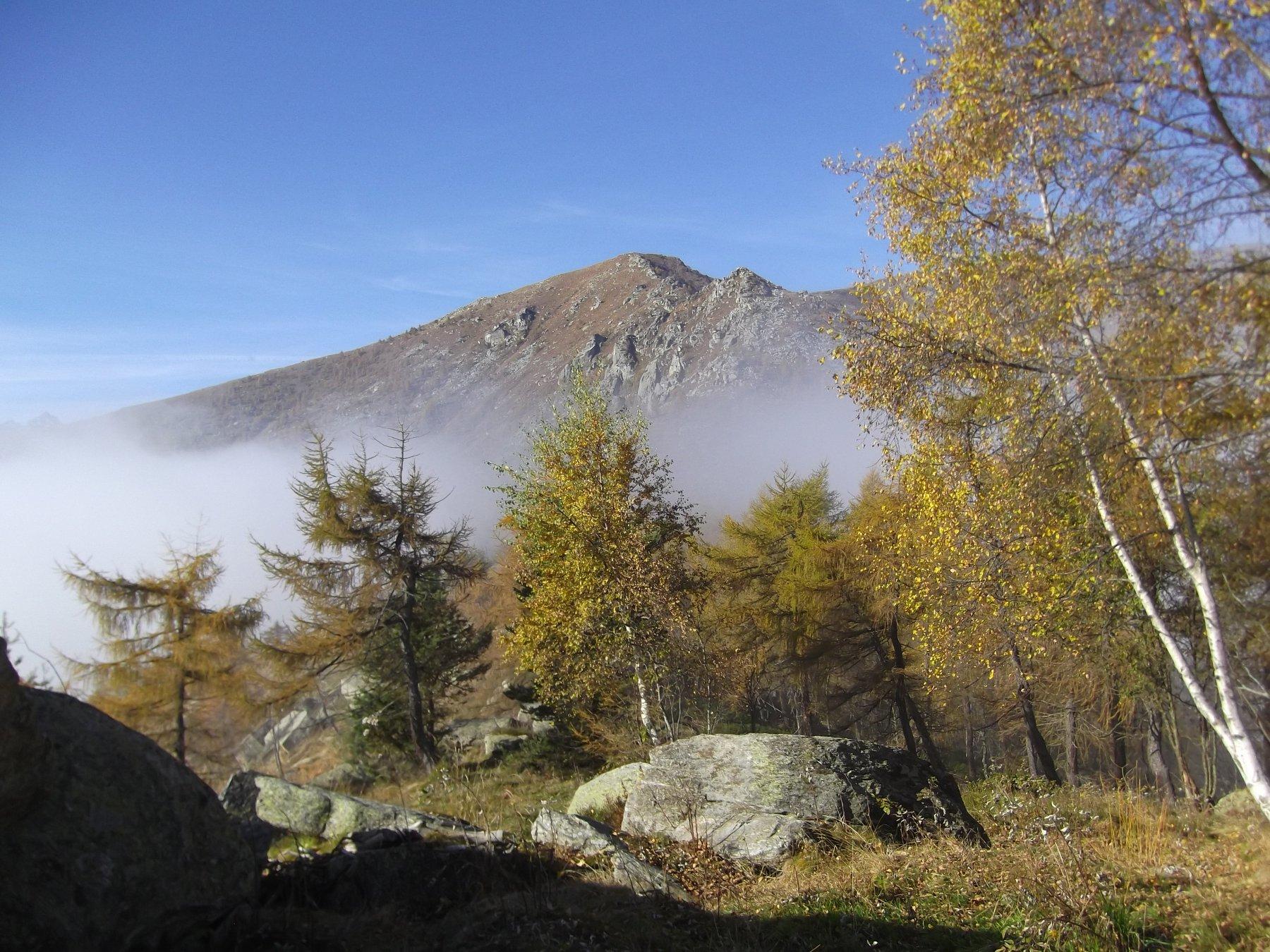 Monte Selassa dal Bric Arcett.