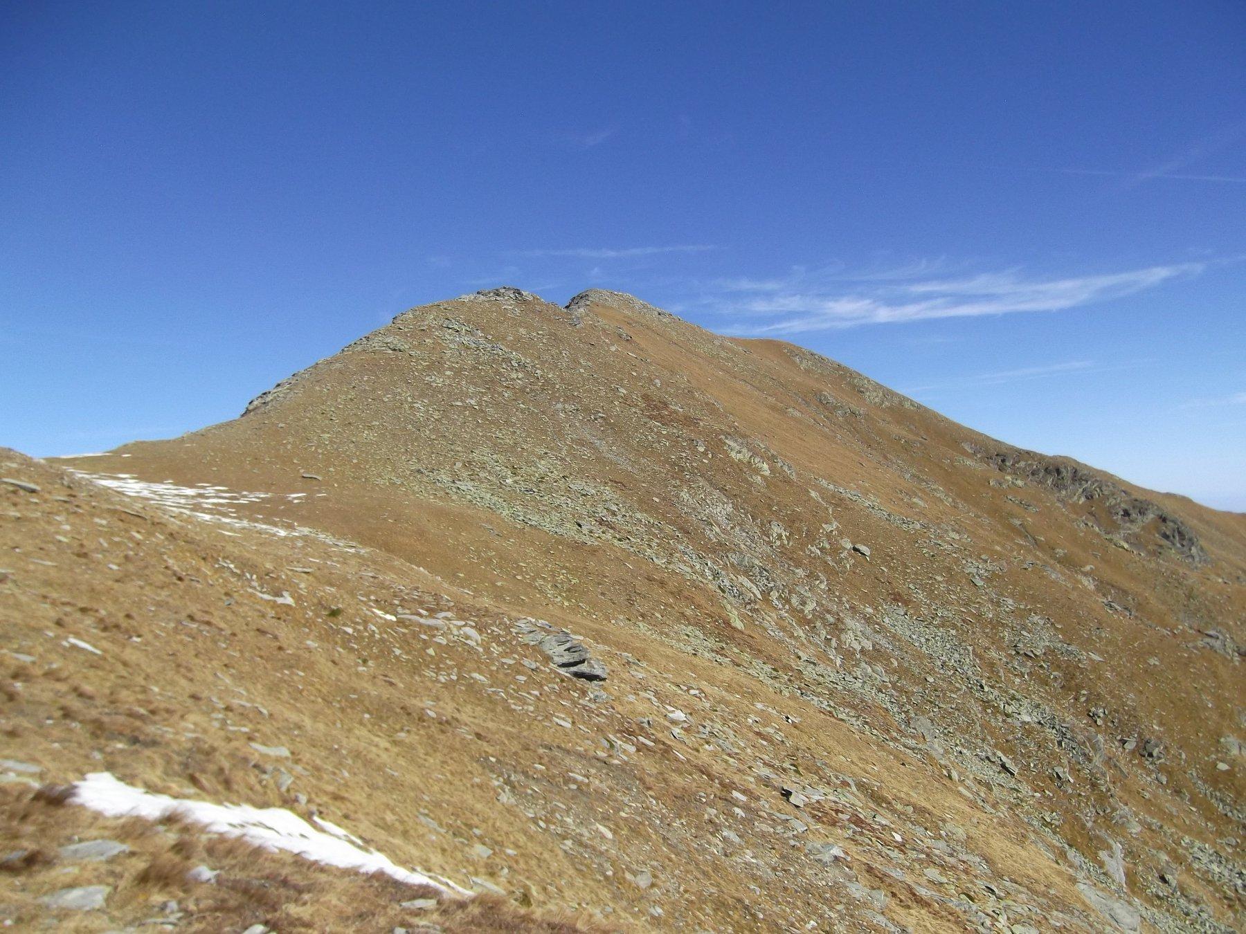 Monte Frioland dalla parte alta della Costa Rasis.