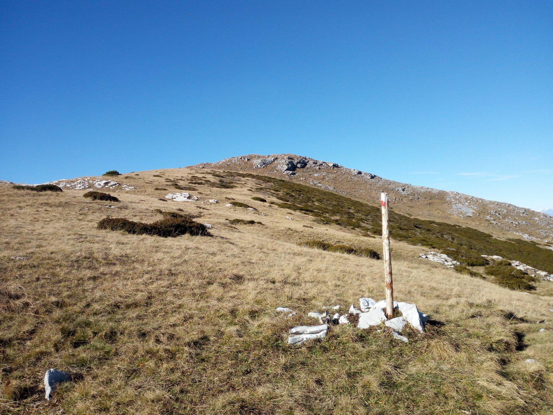 Jurin (Monte) da Pian delle Gorre, anello per Passo del Duca, Colle Carbonè, Colle Vaccarile 2016-10-29