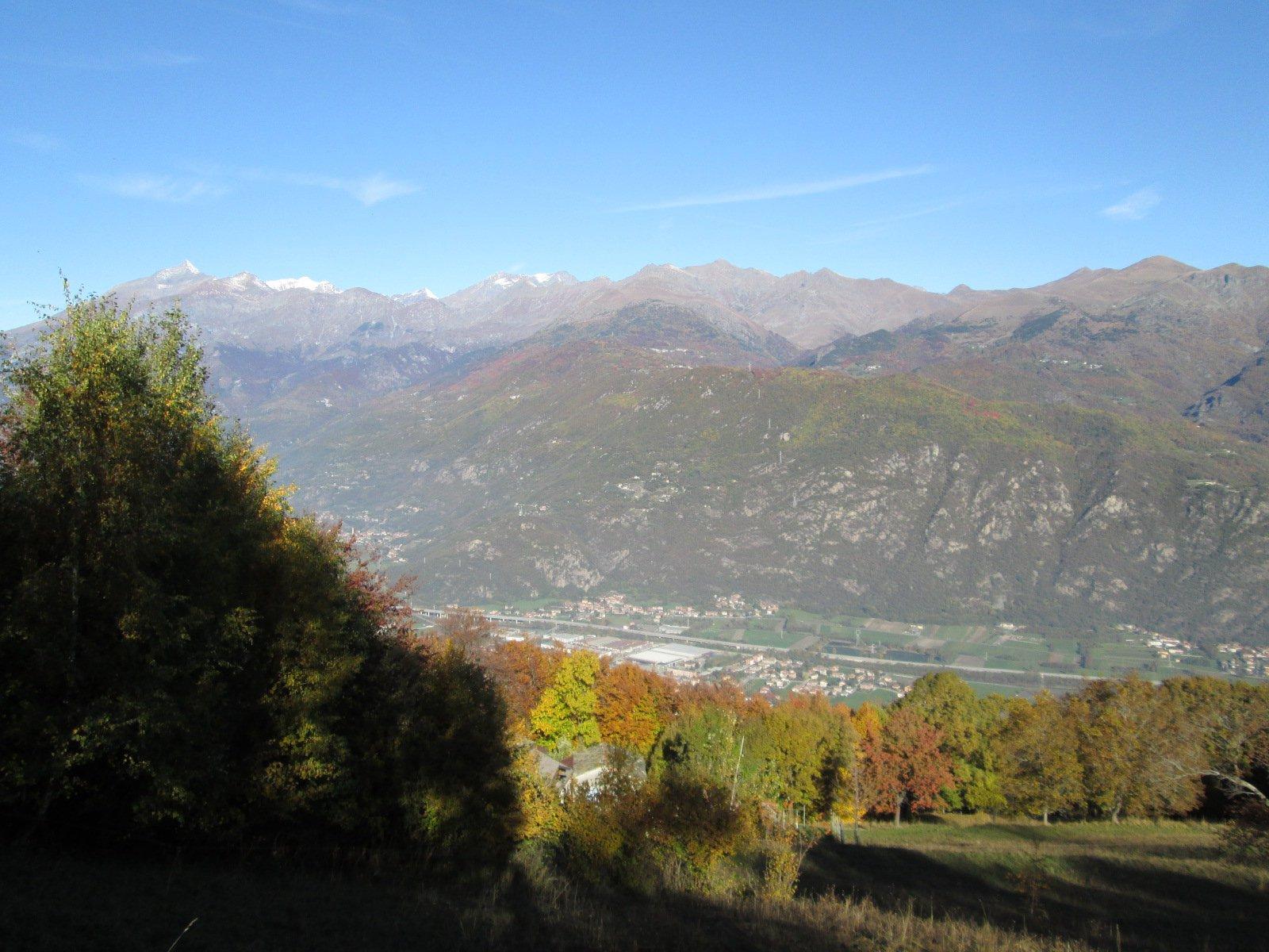 scorcio panoramico sulla valle