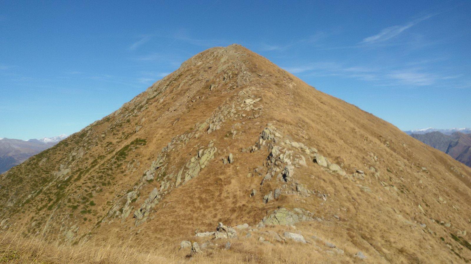 Ultimo tratto per il Monte Zeda