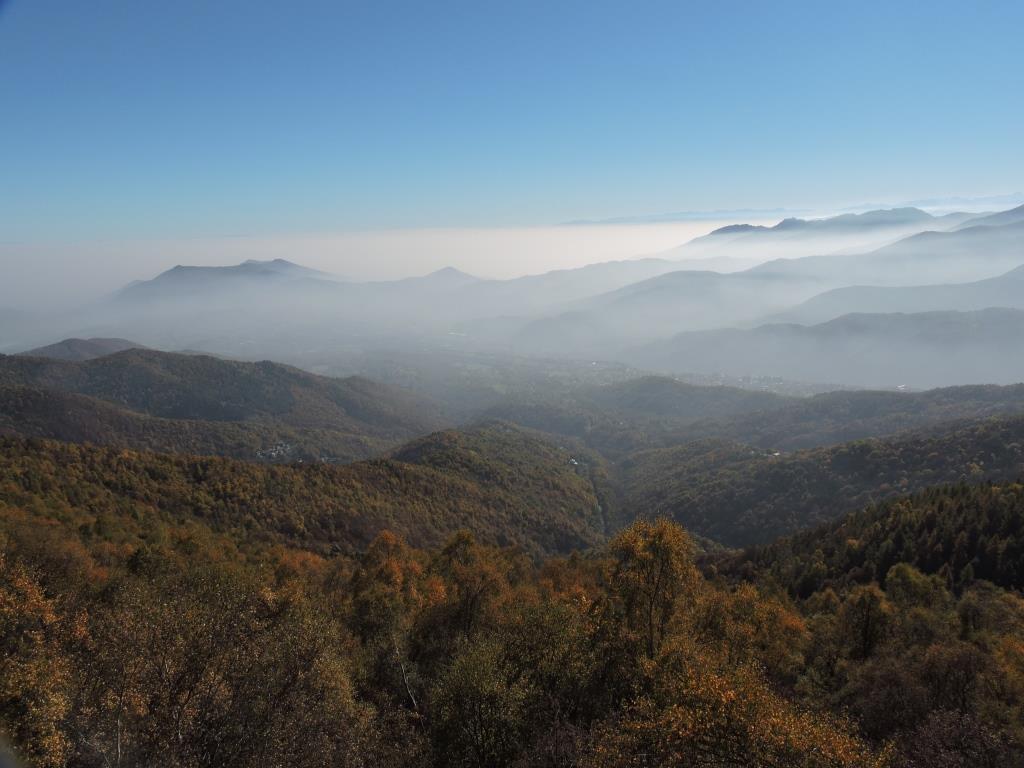 Foschie sulla Val Sangone