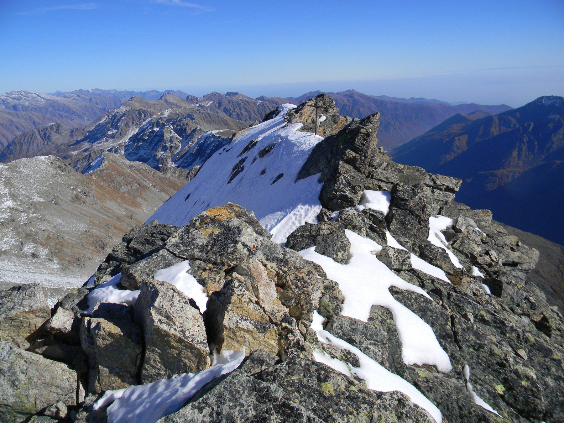 la cima della Girard