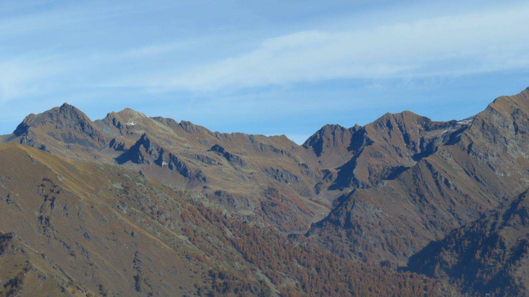 Zoom sull'alto Vallone di Piamprato