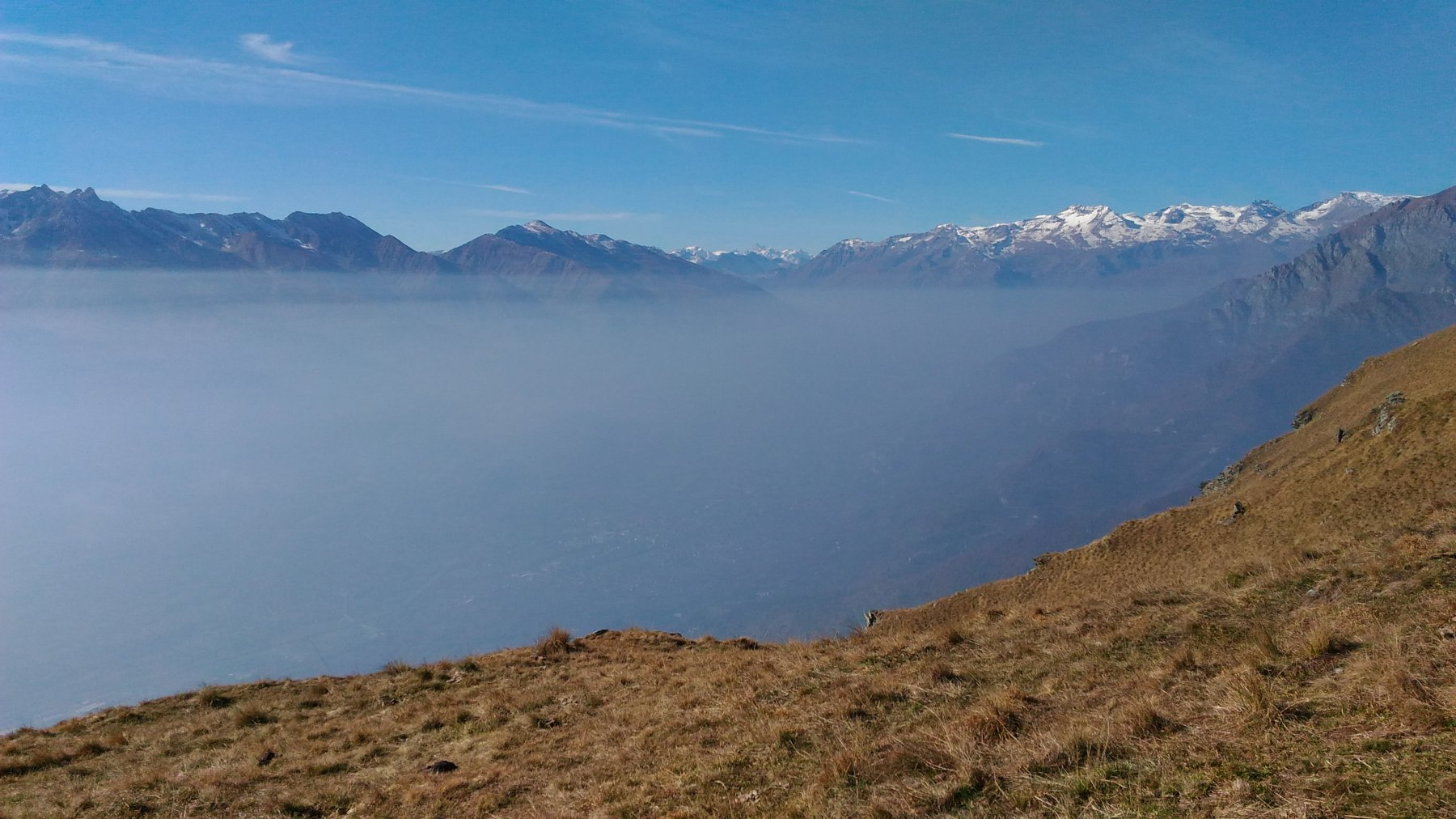 nebbie in valle di Susa