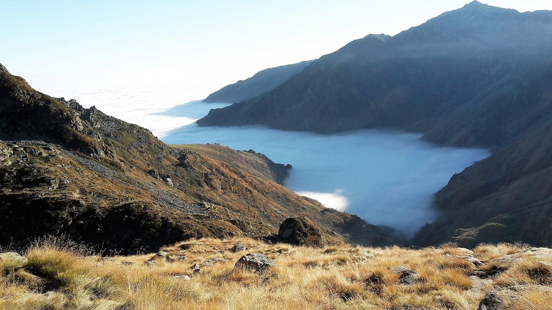 golfo delle nebbie in valle Elvo