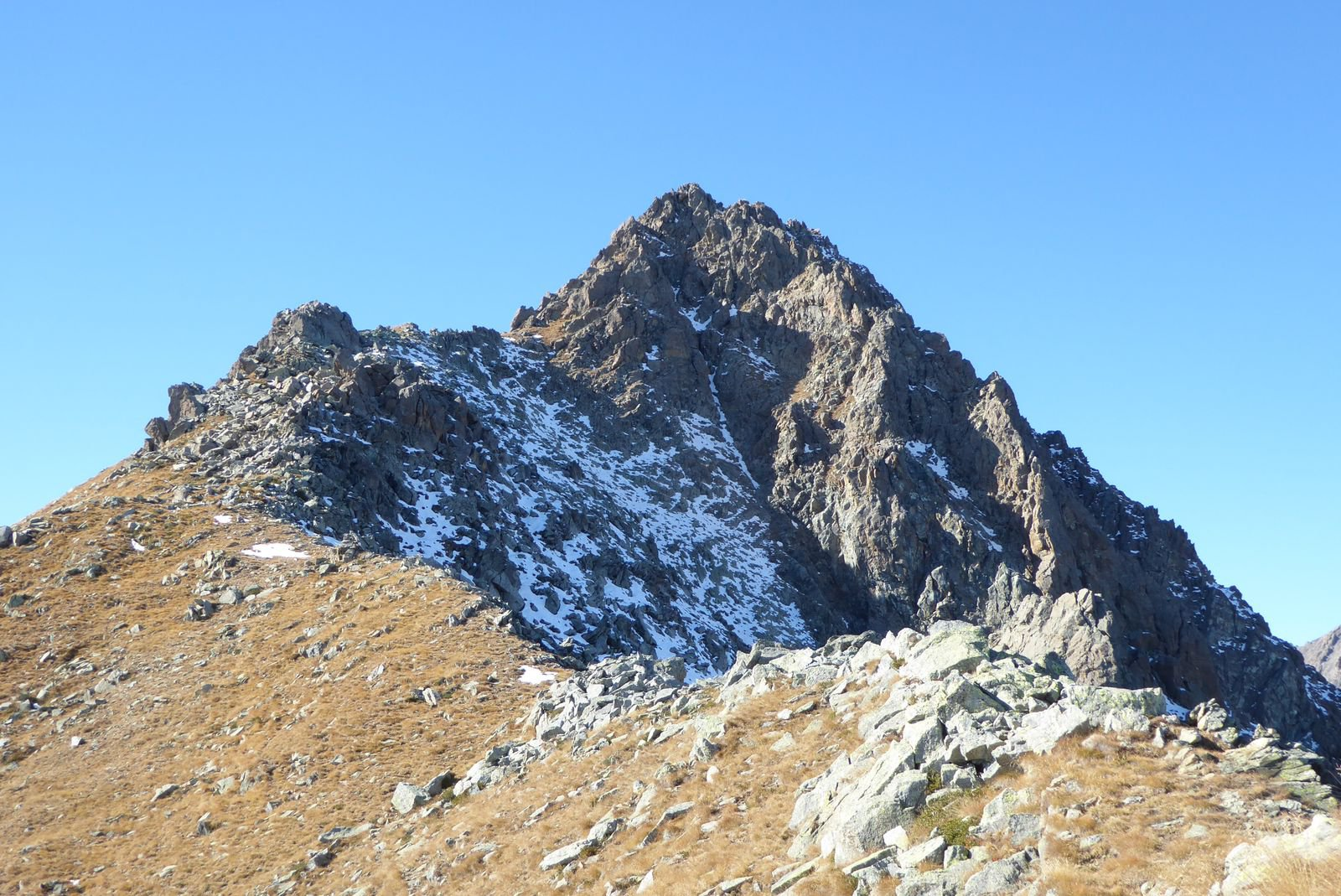 Pian Real (Monte) da Ruata per il Colle del Vento del Forno e la Cresta Est 2016-11-01