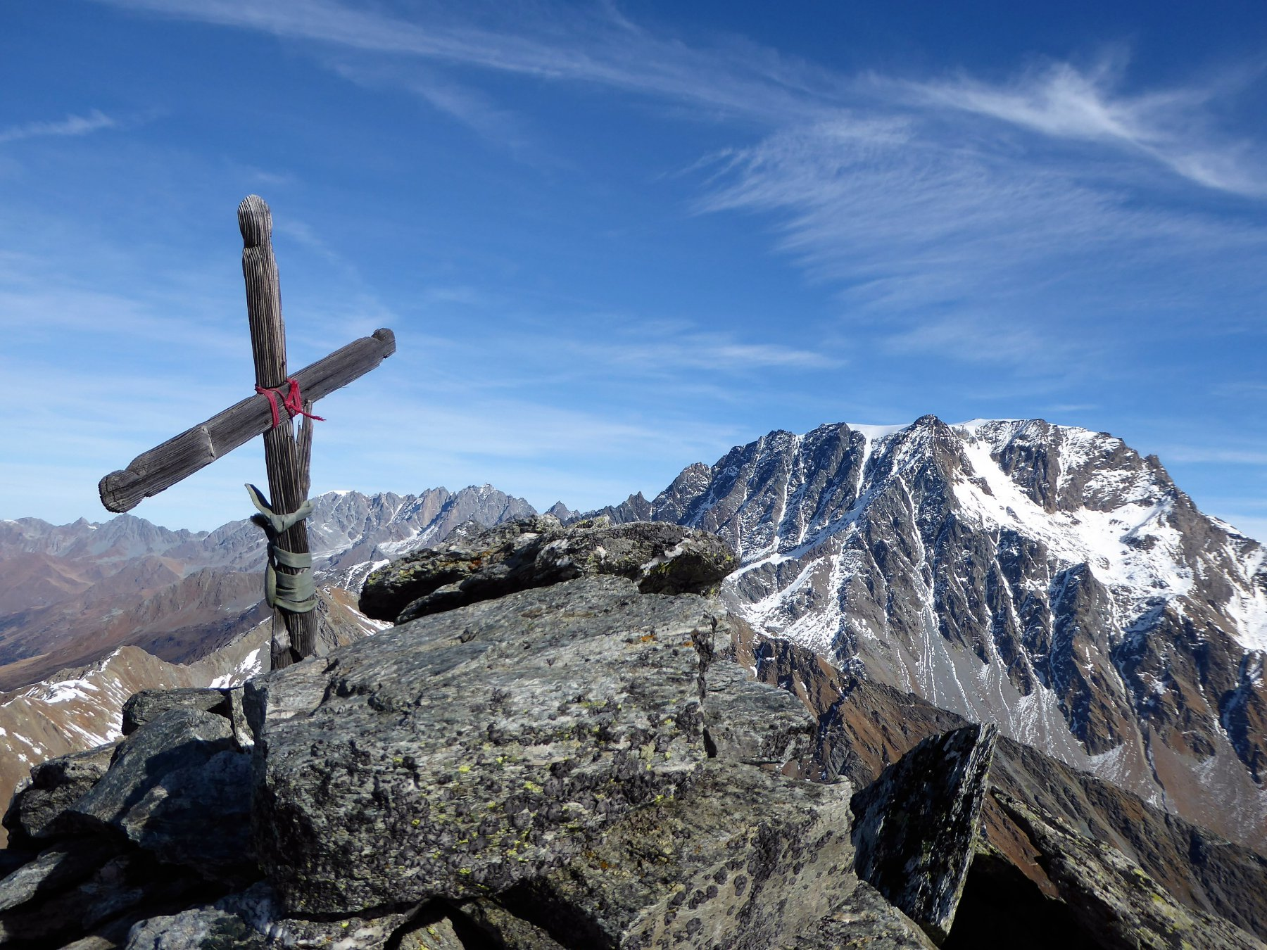 Il Velan dalla croce di vetta