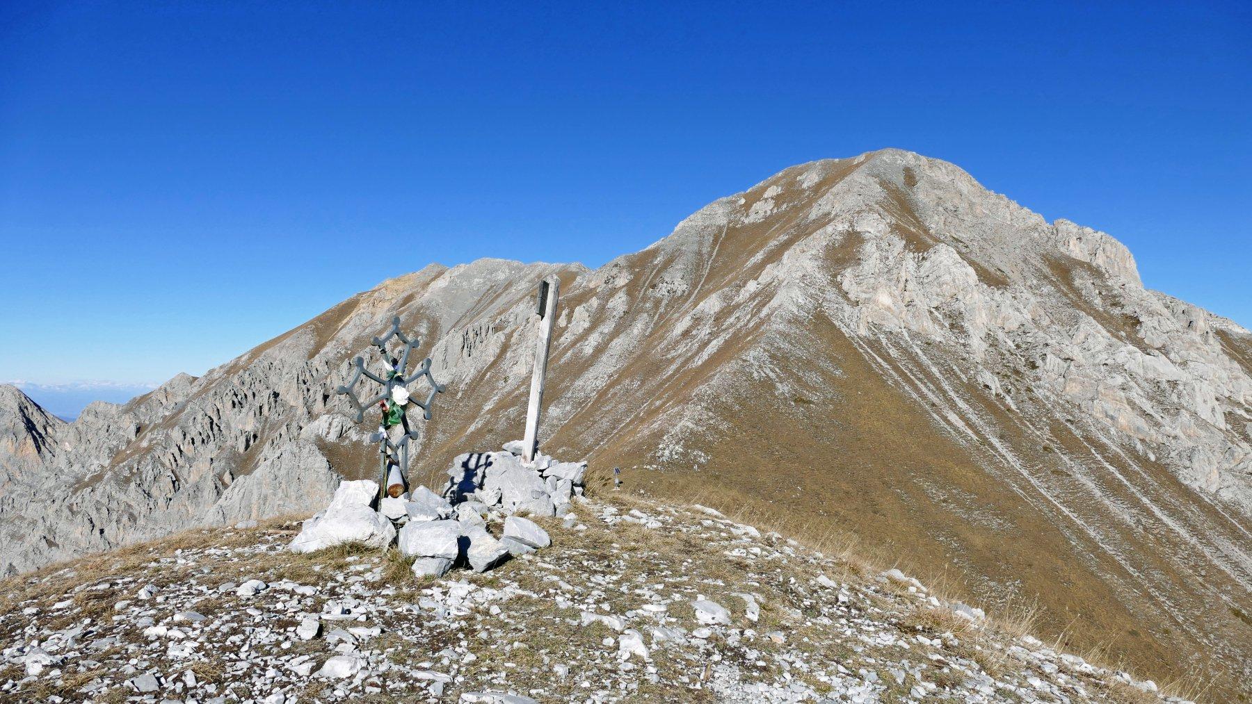 Dal Pianard vista sul Bussaia e la Rocca d'Orel