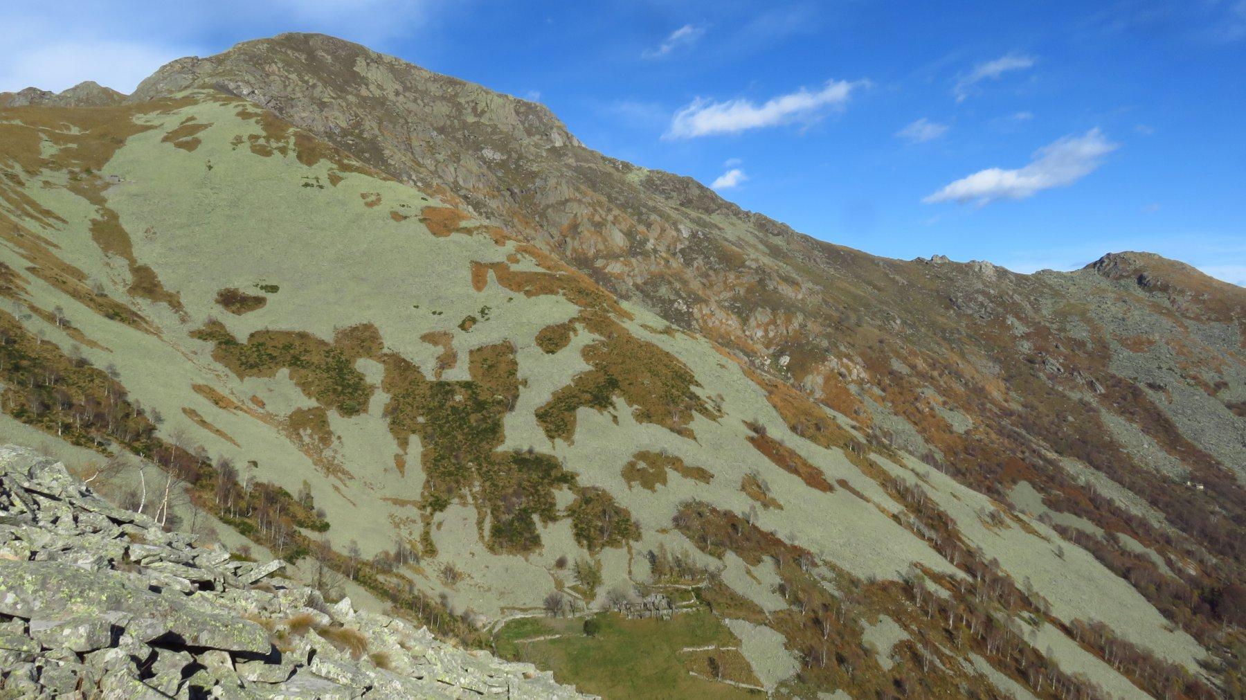 Monte Gregorio e Le Colme