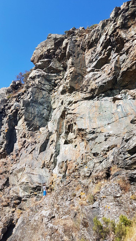 Rocche dell'Orbarina, nuove vie tra il 6a+ ed il 7a sull'Ala Nord.