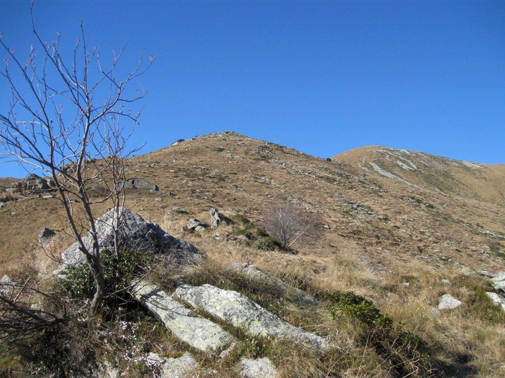 Angiolino (Cima dell') da Case Picat peril Crestone Est per l'alpe Le Drouse 2016-11-12