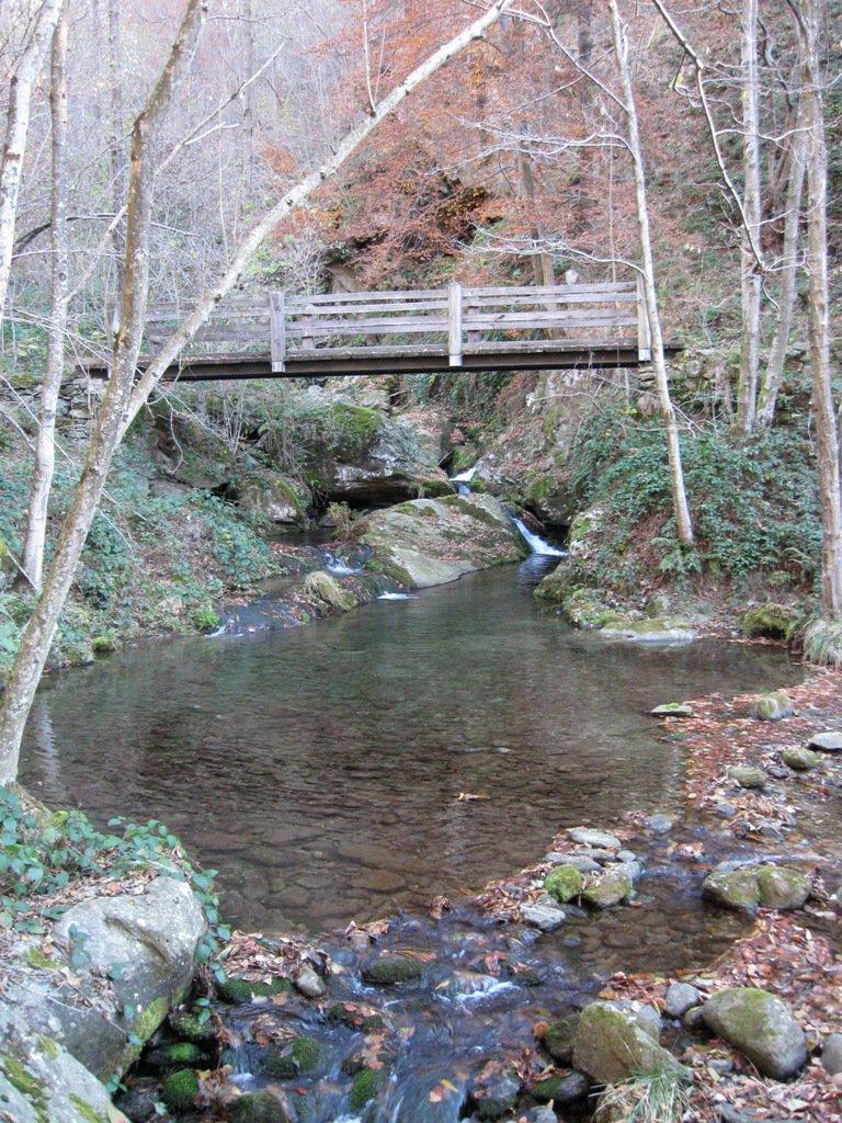ponte sul Malone sotto case Borello