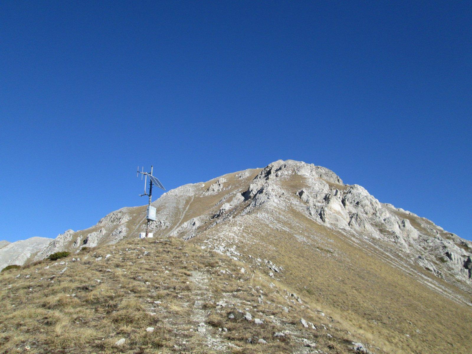 la Rocca d'Orel vista dal colletto Pianard