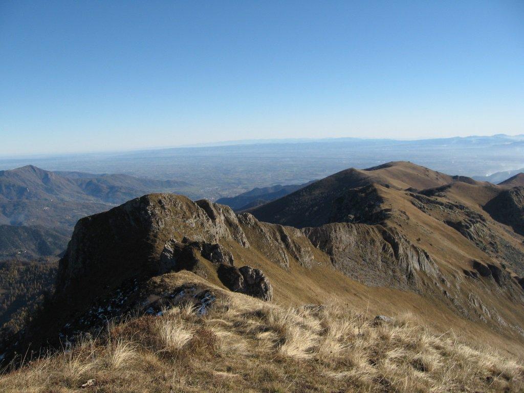 Cernauda (Rocca della) da Colletto per il Colle della Margherita, Monte Plum e cresta del Balou 2016-11-12