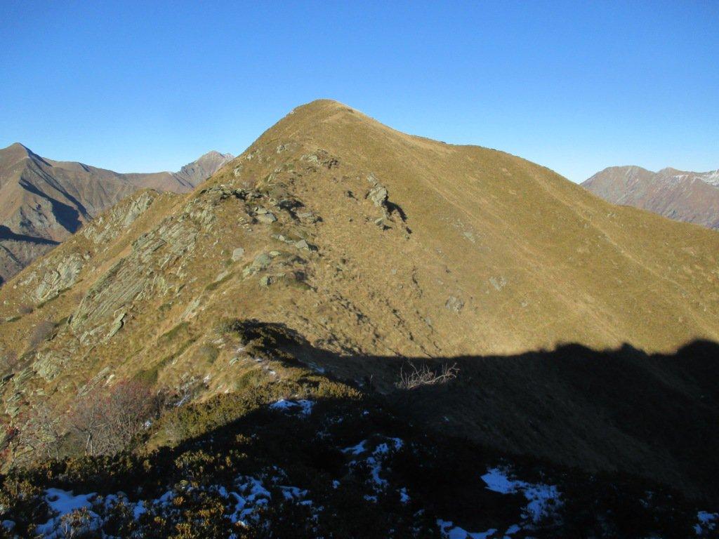 Monte Grassino dalla Sciarina