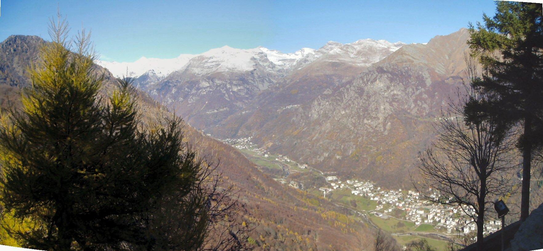 La Val Grande ddi Lanzo con Chialamberto e Cantoria.