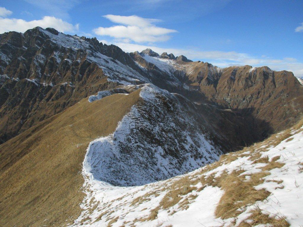 Rossi (Testa dei) da Alpe Valleggia, versante sud 2016-11-13