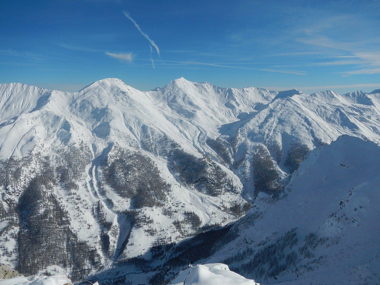 vista sulla Val Troncea