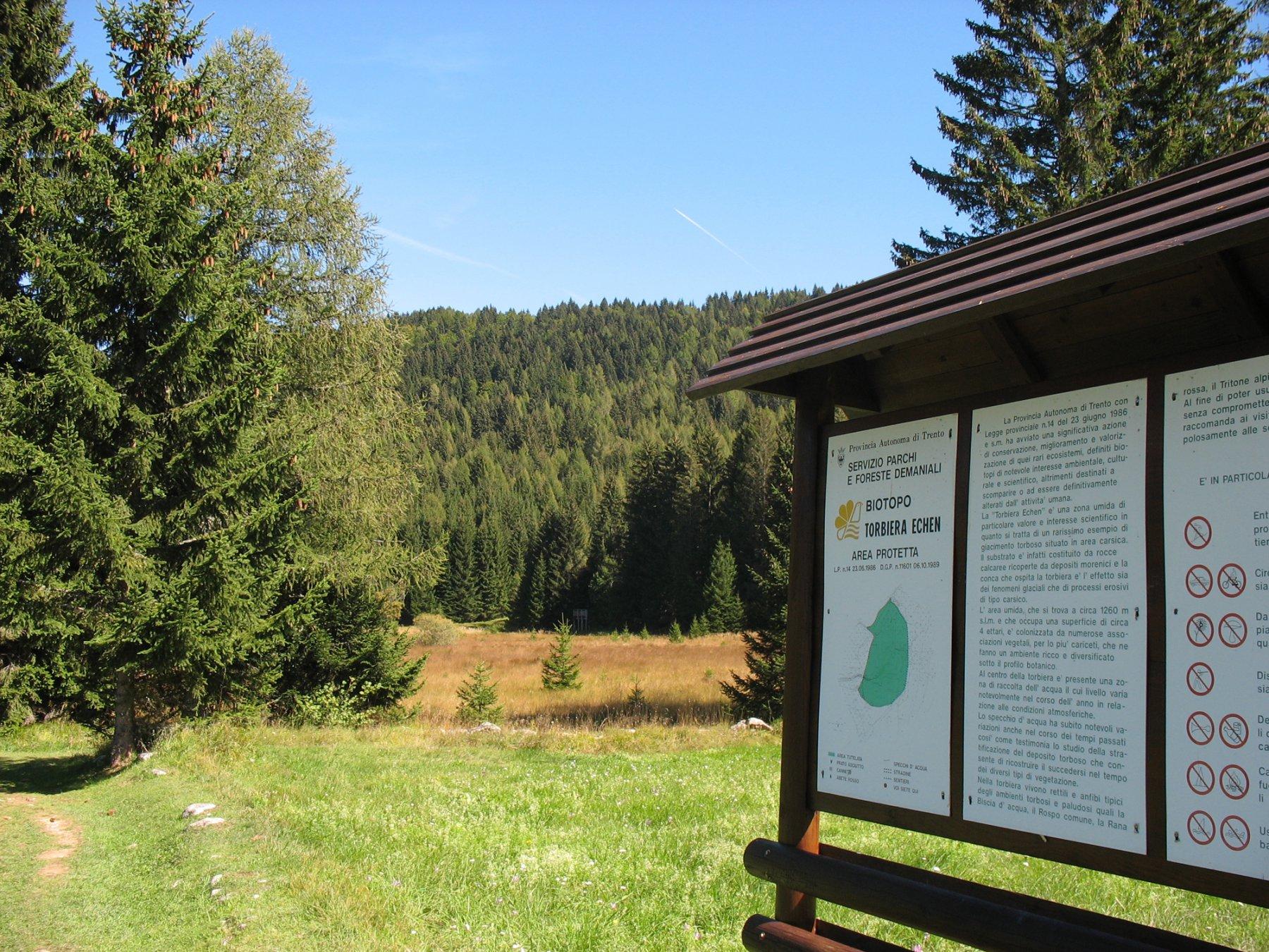 Il biotopo di Ecken, area protetta