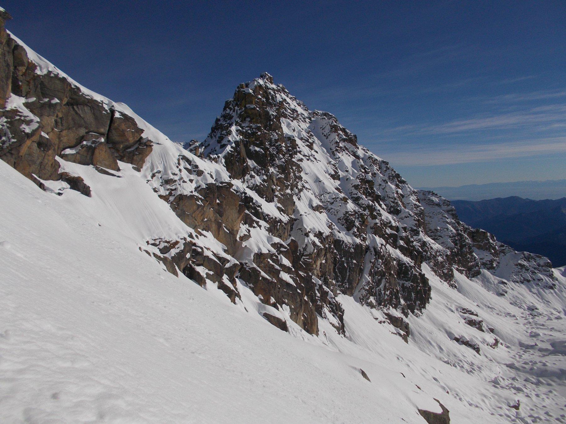 ancora la Giardonera..dal colletto dove si lasciano gli sci..