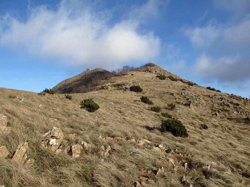 Il Tobbio dalla cresta sud