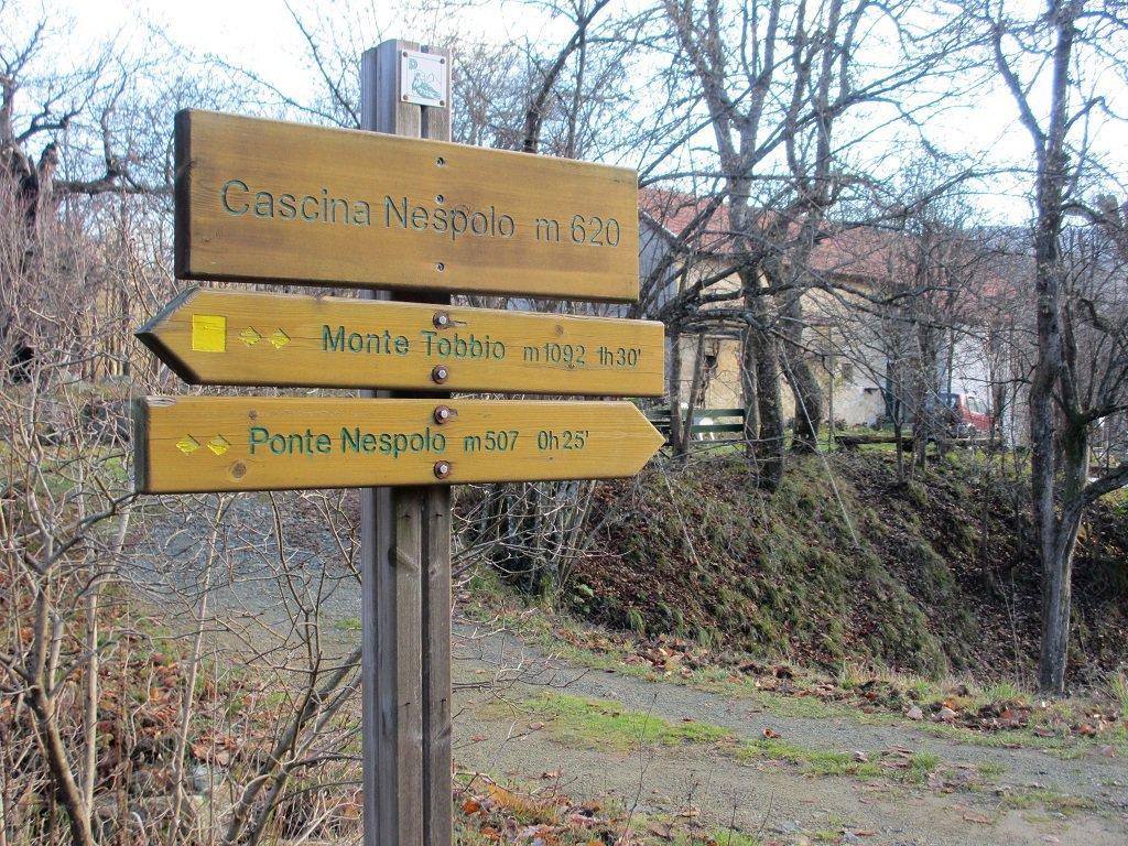 Indicazioni a cascina Nespolo