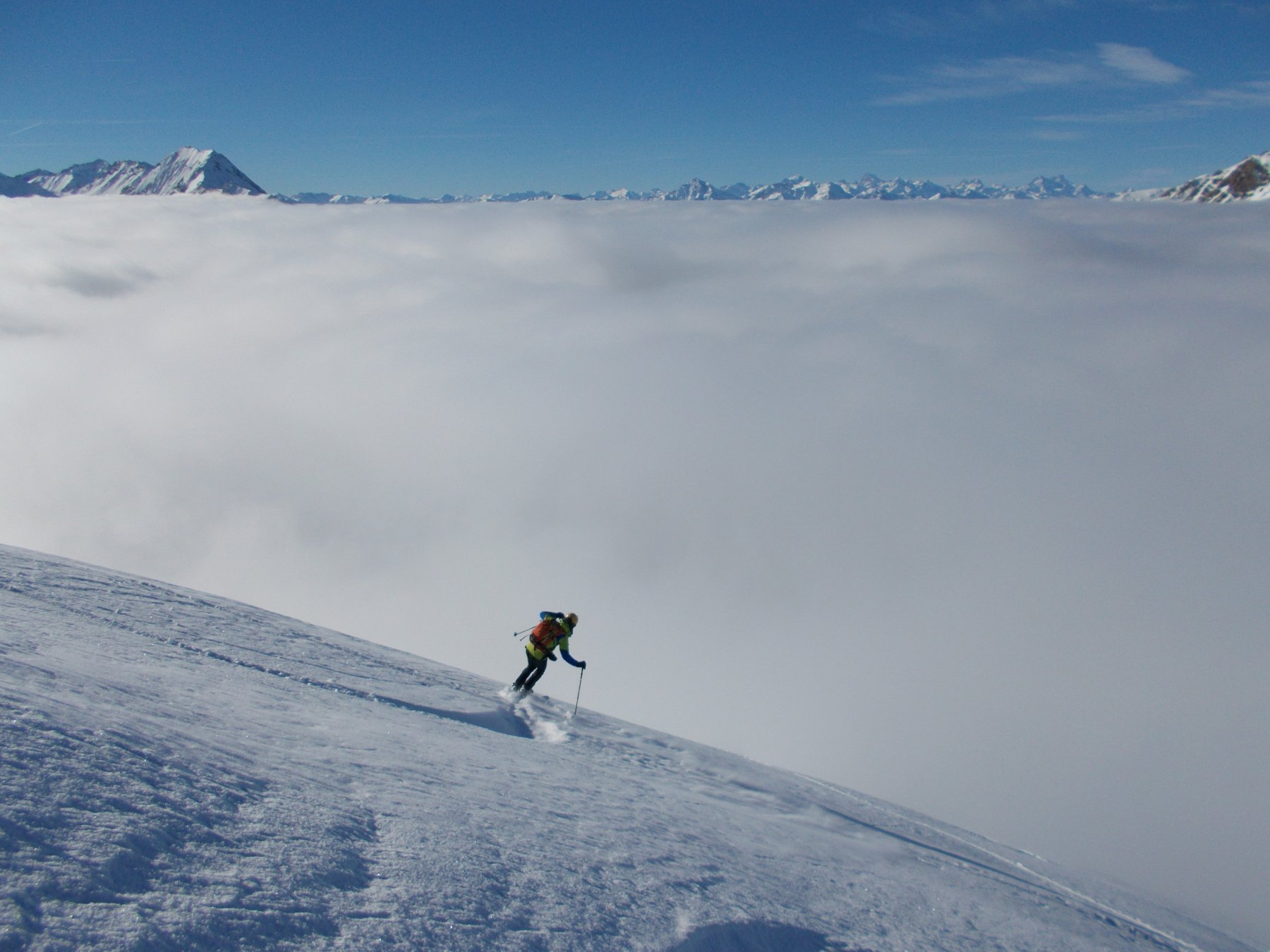 Tuffo verso la nebbia