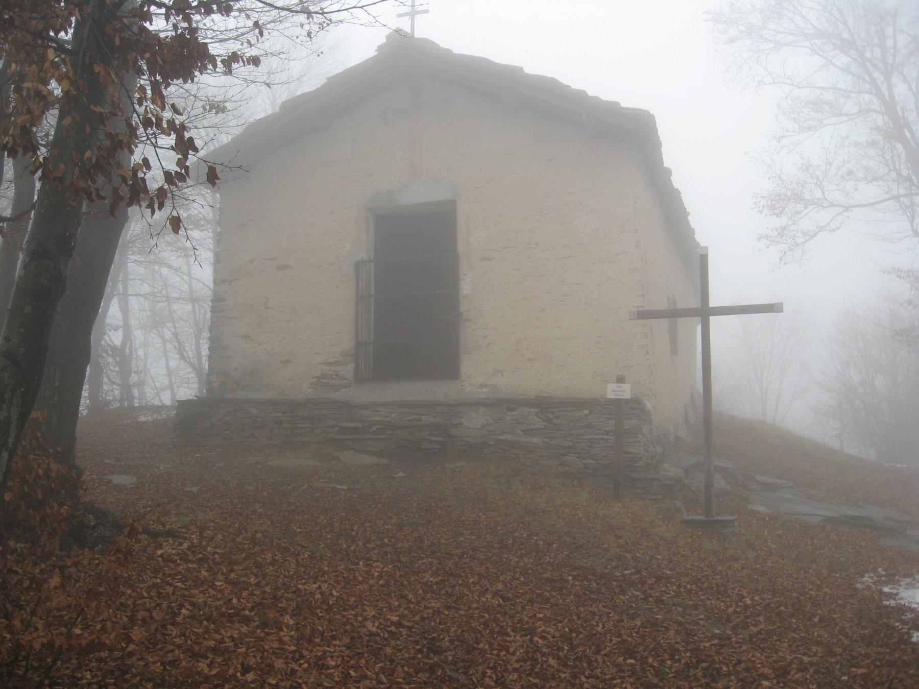La chiesetta di San Bernardo