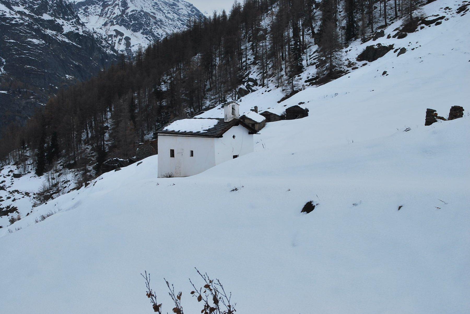 La chiesetta di Benevy