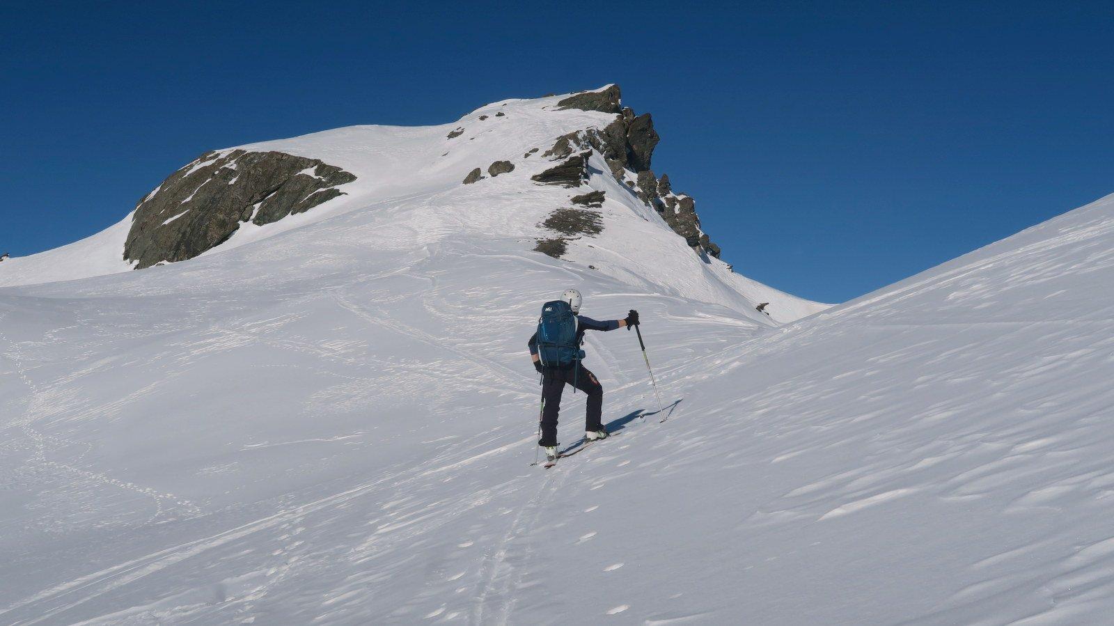 Poco sotto Punta dell ' Alp 3034 mt
