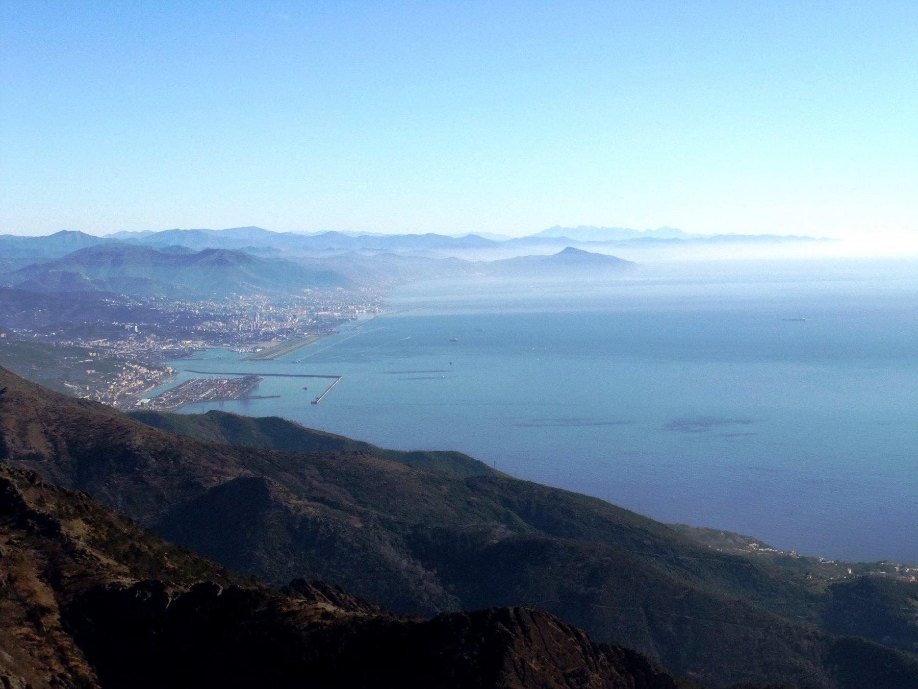 Genova dal Monte Rama