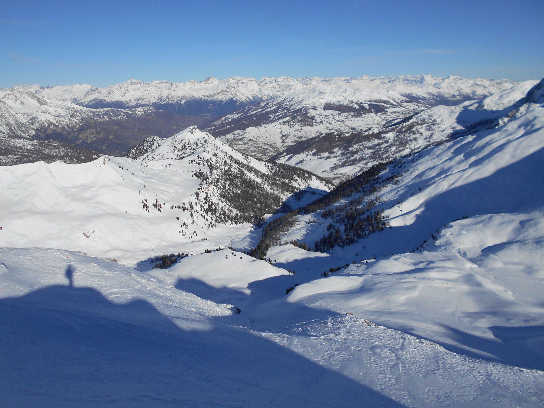 Dormillouse (Créte de la) quota 2708 m dalla Val Thuras 2016-12-08