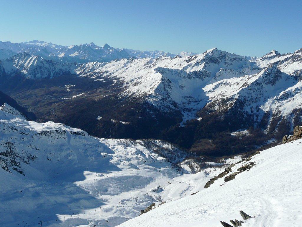 Verso la Val d'Ayas.