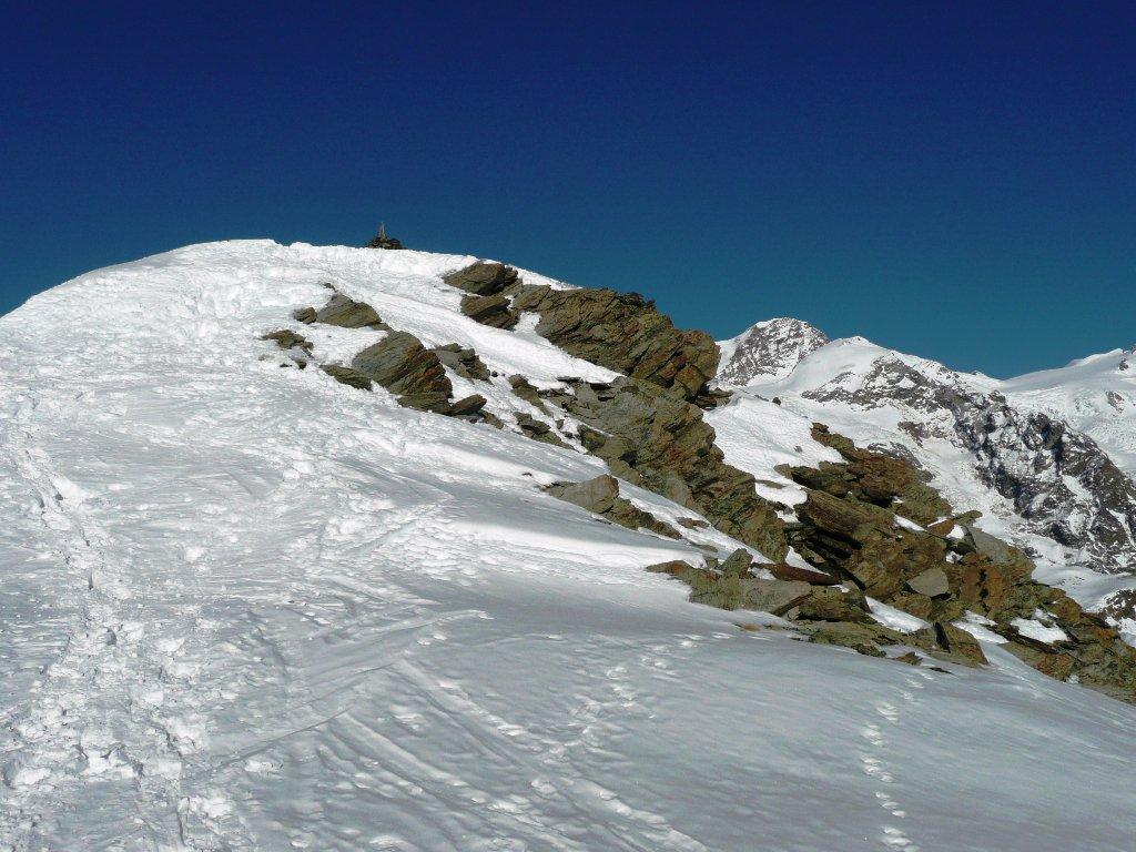 La cima, ultimi metri.