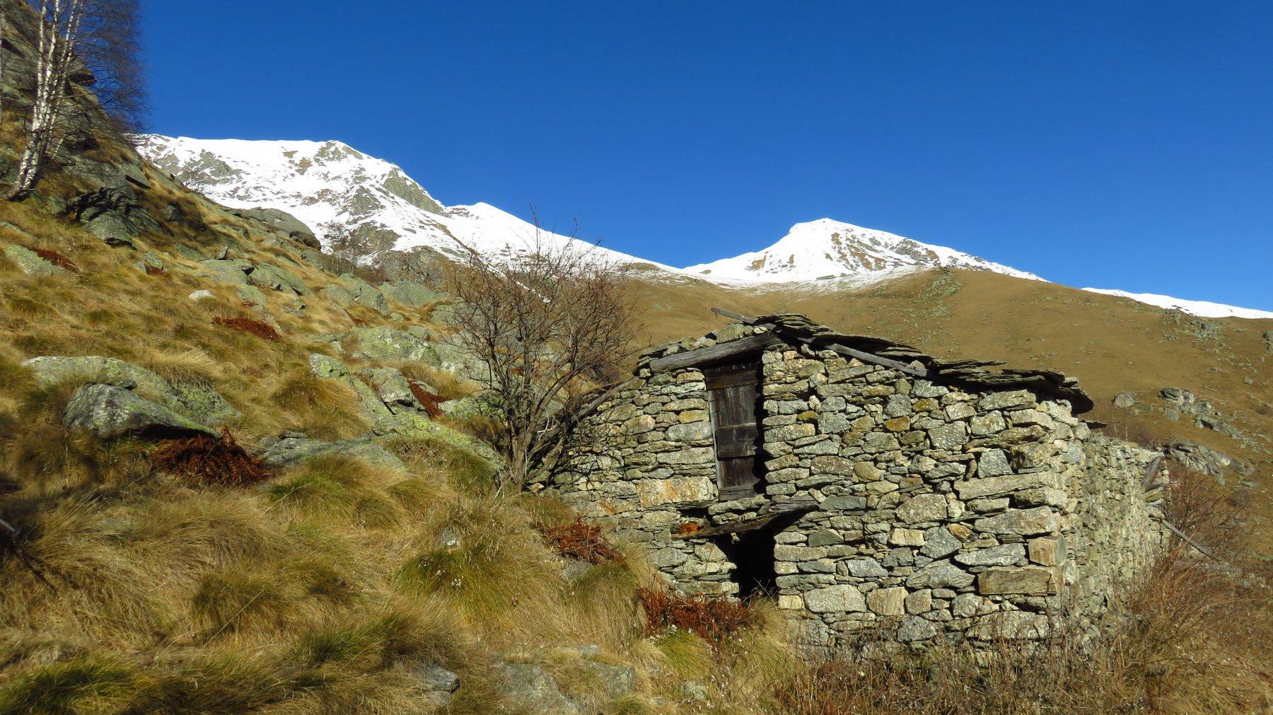 Ruderi all'Alpe Timolai