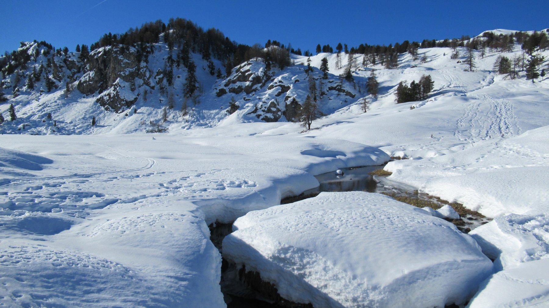 Lago Nero in versione... bianca