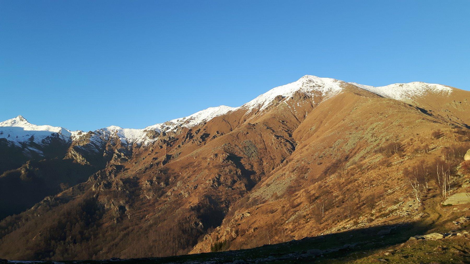 Vista dall'Alpe Cialma