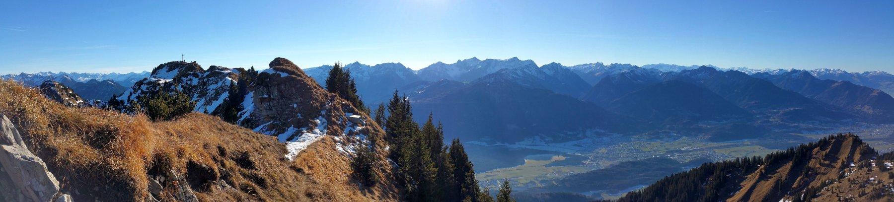 Hochgerach da Thüringerberg 2016-12-10