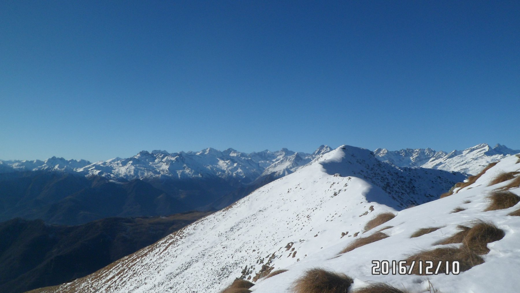 Le cime delle valli di Lanzo dall'Angiolino